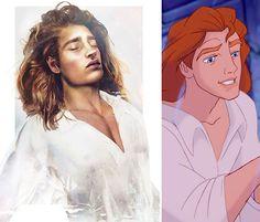 Un illustrateur imagine à quoi ressembleraient les princes Disney en version réaliste