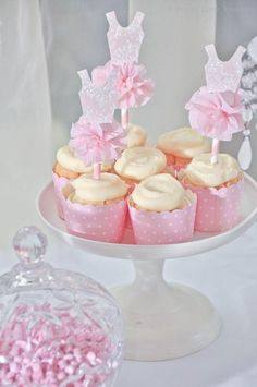 Daddy's Little Princess Girl Ballet 1st Birthday Party Planning Ideas