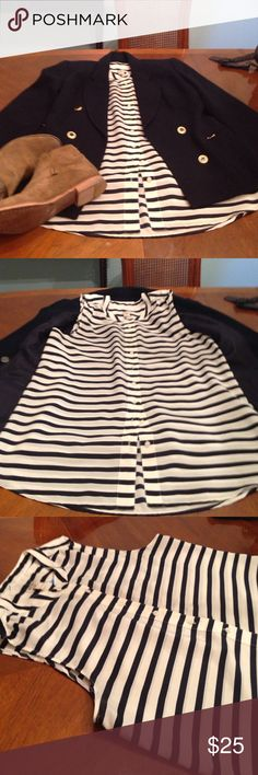 J.Crew blouse Wear it in the office, a casual day. Wear it as you want. Like new J. Crew Tops Blouses