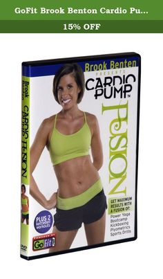 GoFit Brook Benton Cardio Pump Kettlebell Workout 75 Minutes Dvd. CardioPump Fusion takes the mundane out of your aerobic routine. Shock your body with this intense fusion of Power Yoga, Bootcamp, Kickboxing, Plyometrics and Sports Drills.