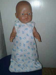 Slaapzak voor baby born 43 cm