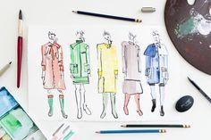 Victoria-Riza Fashion Illustration   M Missoni Fall 2016   NYFW