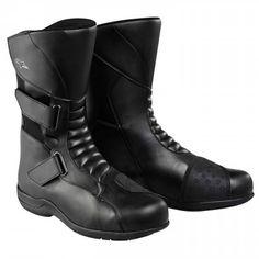 Black, EU Size 36 Alpinestars Gunner Waterproof Mens Street Motorcycle Boots