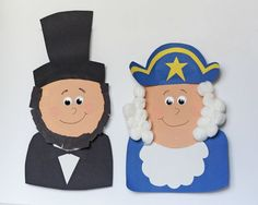 4 President's Day Crafts for Kids by @Amanda Formaro