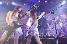 Japanese Girl Band, Japanese Female, Hard Rock, Heavy Metal, Folk, Guitar Girl, Female Guitarist, Metal Girl, Alternative Music