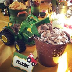 For my son's Birthday, he wanted a John Deere birthday party. I loved putting this party together as inexpensively and creative as I could. Farm Animal Birthday, Cowboy Birthday, Farm Birthday, Boy Birthday Parties, Tractor Birthday Cakes, Circus Birthday, Circus Party, Party Party, Birthday Ideas