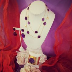 The #LindseyMarie #Halloween #colors edition #1. Thumbs up for #purple #amethyst, YAY or NAY? #jewelry #fashion #style #halloweenjewelry Halloween Jewelry, Purple Amethyst, Colors, Style, Fashion, Swag, Moda, Fashion Styles, Colour