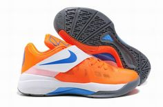 on sale fe346 b33f7 Durant-004 Orange Shoes, Grey Shoes, Nike Basketball, New Basketball Shoes,