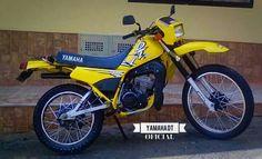 DT 125 AMARILLA Dt Yamaha, Pablo Escobar, Super Bikes, Jeeps, Tattos, Mtb, Motorbikes, Trail, Motorcycles