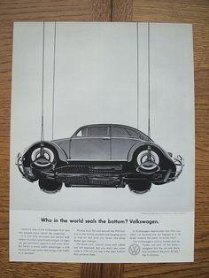 Volkswagen Beetle Ad - Sealed Bottom