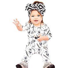 103fd29b3b9c LANSKRLSP Abbigliamento Neonato Tute Bimbo Toddler Bambini Bambino Lettera Ragazzi  Ragazze Felpa con Cappuccio Tuta Inverno