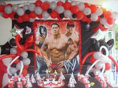 wwe birthday party ideas - Google Search