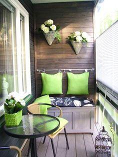 small balcony patio furniture ideas - Google Search