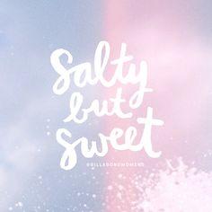SALTY + SWEET // @BillabongWomens inspo