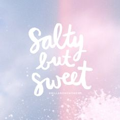 SALTY + SWEET // @BillabongWomens inspo