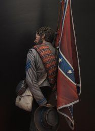 Here's my latest finished piece: The beatiful Confederate. Southern Heritage, Southern Pride, Confederate States Of America, Confederate Flag, American Veterans, American Civil War, Civil War Art, Pictures Of Jesus Christ, Don Johnson