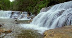 French Broad Falls, Mill Shoals Waterfall
