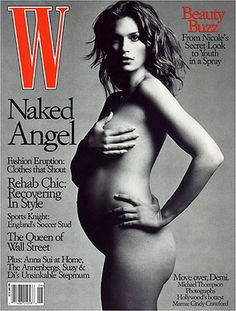 59ce58070d49c W Magazine s Supermodel Cover Girls - Cindy Crawford on the cover of W  Magazine June 1999
