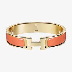 Clic H bracelet   Hermès  Färg: peche melba