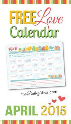 2015 April Love Calendar