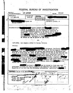FBI Documents Suggest Adolf Hitler and Eva Braun Fled To Argentina In A Submarine