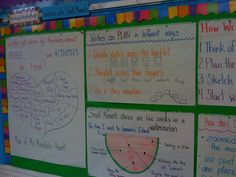 anchor charts-Writers' Workshop