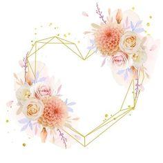 Gerbera, Invitation Design, Invitations, Poster Background Design, Watercolor Lettering, Floral Border, Border Design, Floral Wreath, Wreaths
