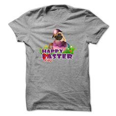 Happy  EasPug #pet #tshirt