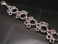 PawPrints Chainmaille Bracelet | daisykreates - Jewelry on ArtFire