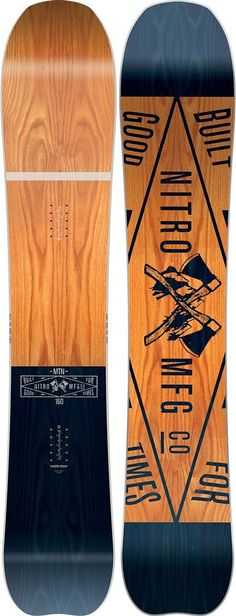 NEW 2017 Nitro Mountain Snowboard