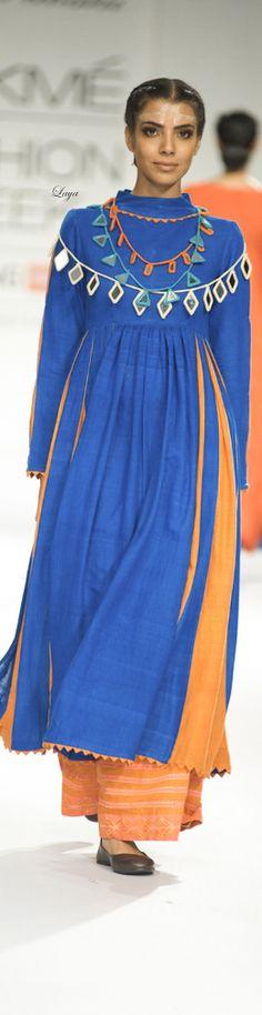 Purvi Doshi -Lakme Fashion Week Fall/Winter 2014-15