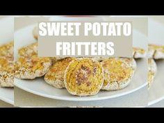 SWEET POTATO FRITTERSǀǀ LOW FAT & EASY - YouTube