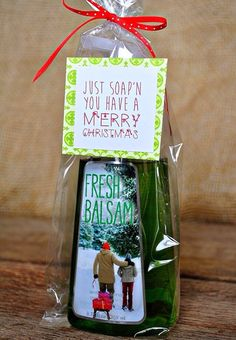 Simple, inexpensive holiday gift for a neighbor or teacher.