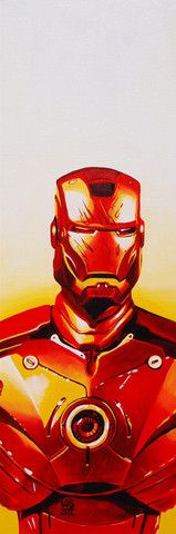 Repin if you like this metallic Iron Man print and click to see how you could win it from @AMCTheatres!