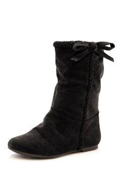 e4fa9fd6d57 Braided Flat Boot Flat Boots