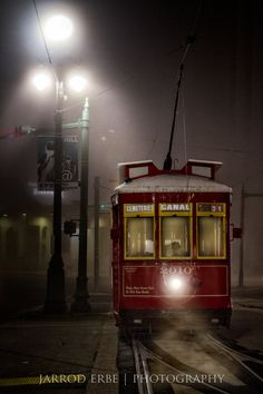 New Orleans Trolley  NOLA Travel Photography