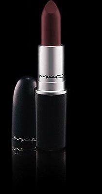 Brand NEW (NIB) MAC matte lipstick SIN - deep dark blue red color