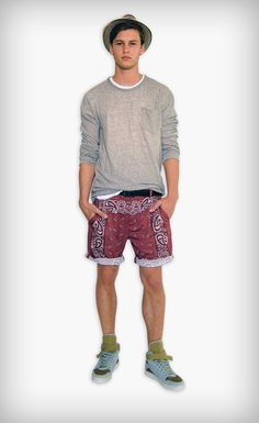 D Men's Spring/Summer 2012 Looks: Sophisticated Patterns With Sicilian Relaxing Lifestyle Young Looks