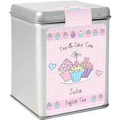Personalised Tea - Cupcake  from Personalised Gifts Shop - ONLY £9.99