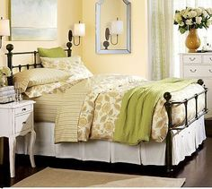 Pottery Barn- We have this bed, but sadly, our bedroom looks nothing like this!