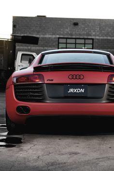 Audi R8 Matte Red Concavo CW-S5