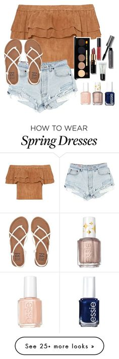 """Untitled #139"" by jennisa-penner on Polyvore featuring Bobbi Brown Cosmetics, Billabong and Essie"