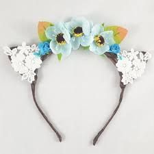 Image result for headpiece with cats on