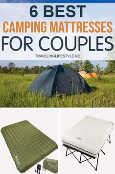 Today we'll compare the six best options on the market to help you determine what is best for your camping adventures. Specifically, we'll explore the different materials used in making a quality camping mattress and the types of valves that differentiate between them. We'll also discuss who is the best consumer for each product to help narrow your search. Best Travel Gadgets, Camping Gadgets, Camping Ideas, Camping Hacks, Camping Mattress, Camping Blanket, Recreational Activities, Life Savers, Adventure Awaits