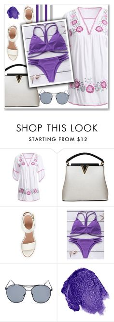 """#34"" by lejla-7 ❤ liked on Polyvore featuring BEA and Obsessive Compulsive Cosmetics"