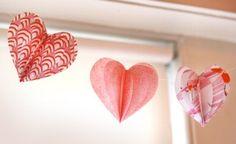 Decoración San Valentín: Guirnaldas de Tela