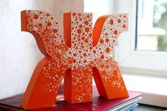 Декоративные буквы и цифры. | Детский праздник: декор, бесплатные шаблоны