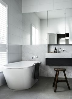 Toorak House Robson RAK Architects | © Sharyn Cairns 10 | Est Magazine  #bathroomideas