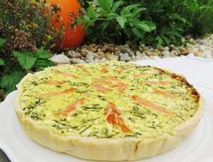 Francouzský slaný koláč quiche // Ochutnejte svět - blog mezinárodní kuchyně Eclairs, Quiche, Catering, Food And Drink, Tart, Easy Meals, Pizza, Treats, Baking