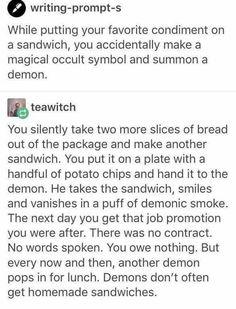 Accidental demon summoning